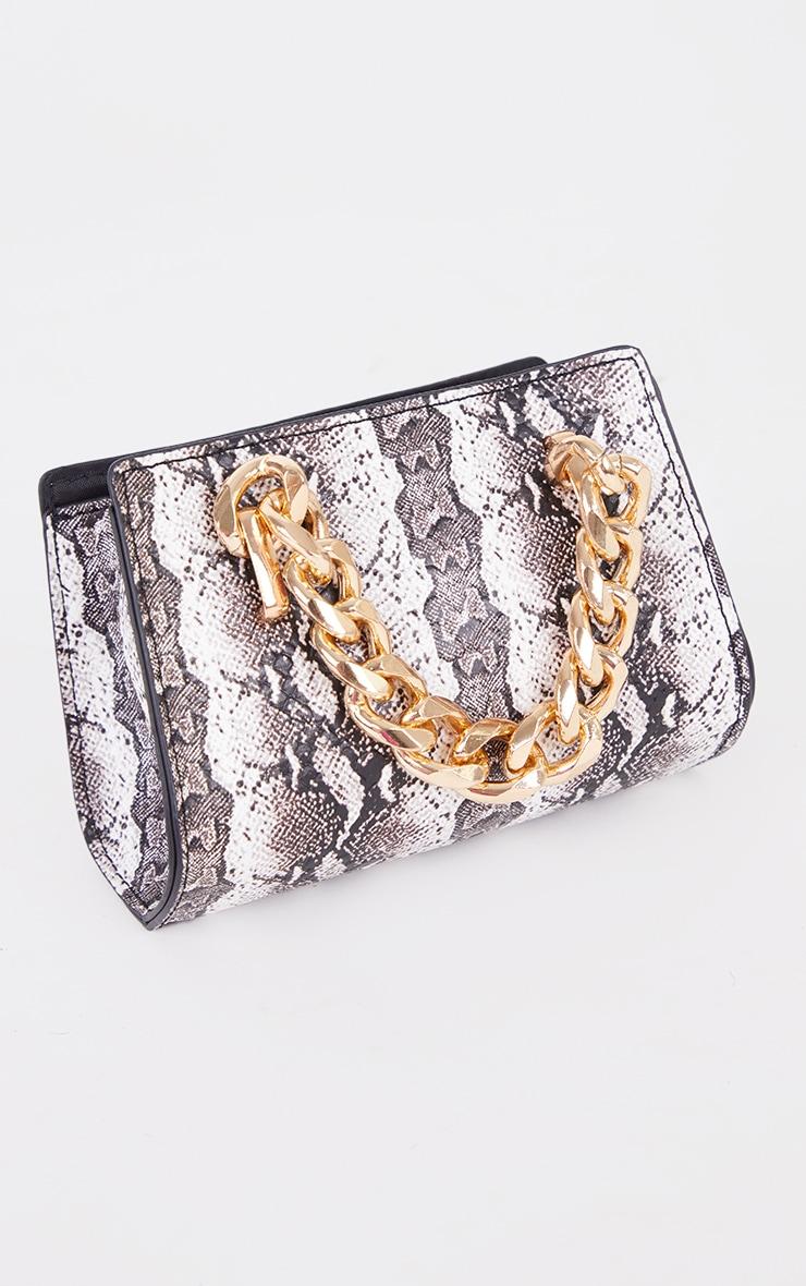Black Snake Chunky Chain Mini Grab Bag 2