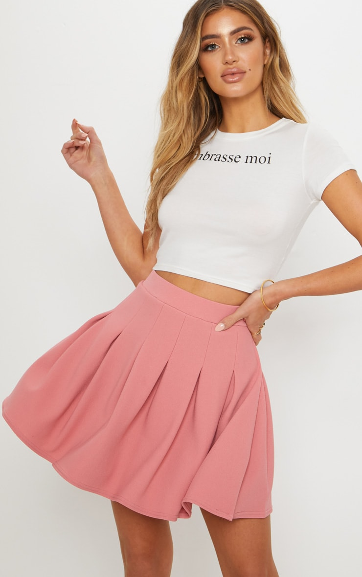 Blush Pleated Tennis Skirt 5