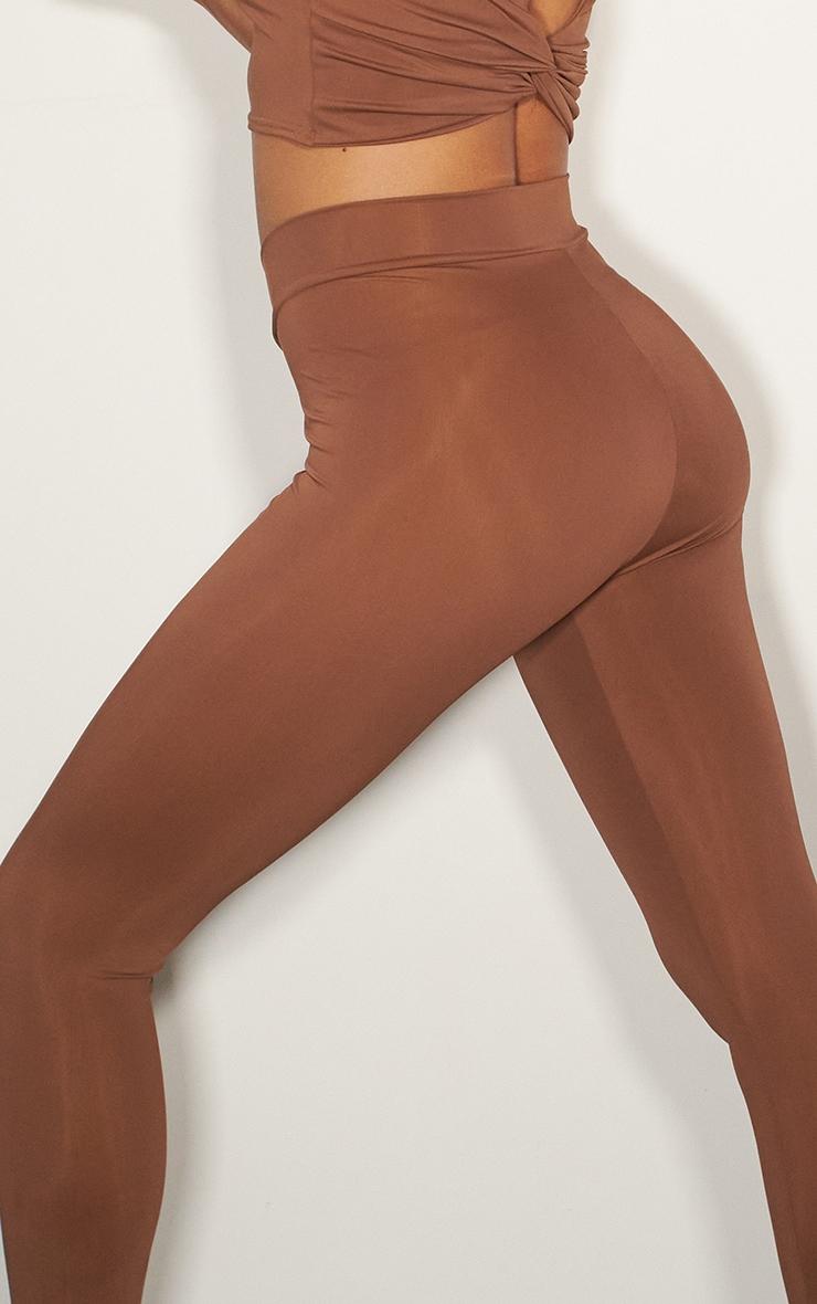 Chocolate V Front Gym Leggings 4