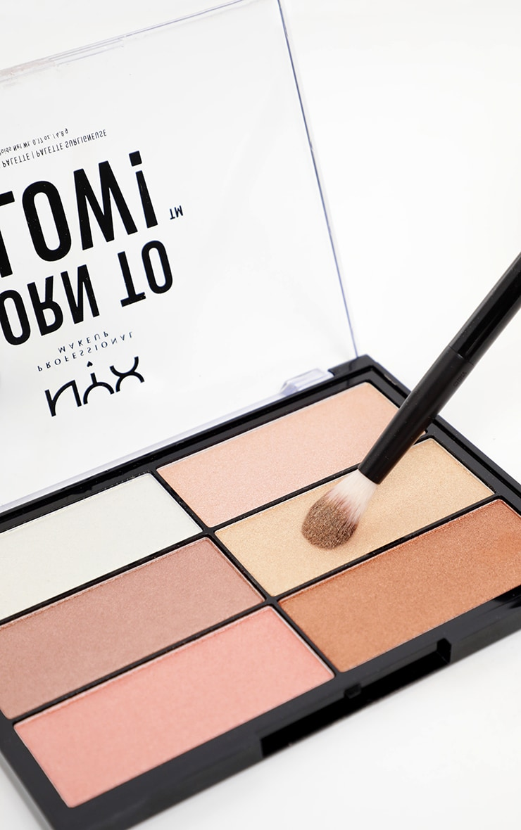 NYX Professional Makeup Born to Glow Highlighting Palette  1