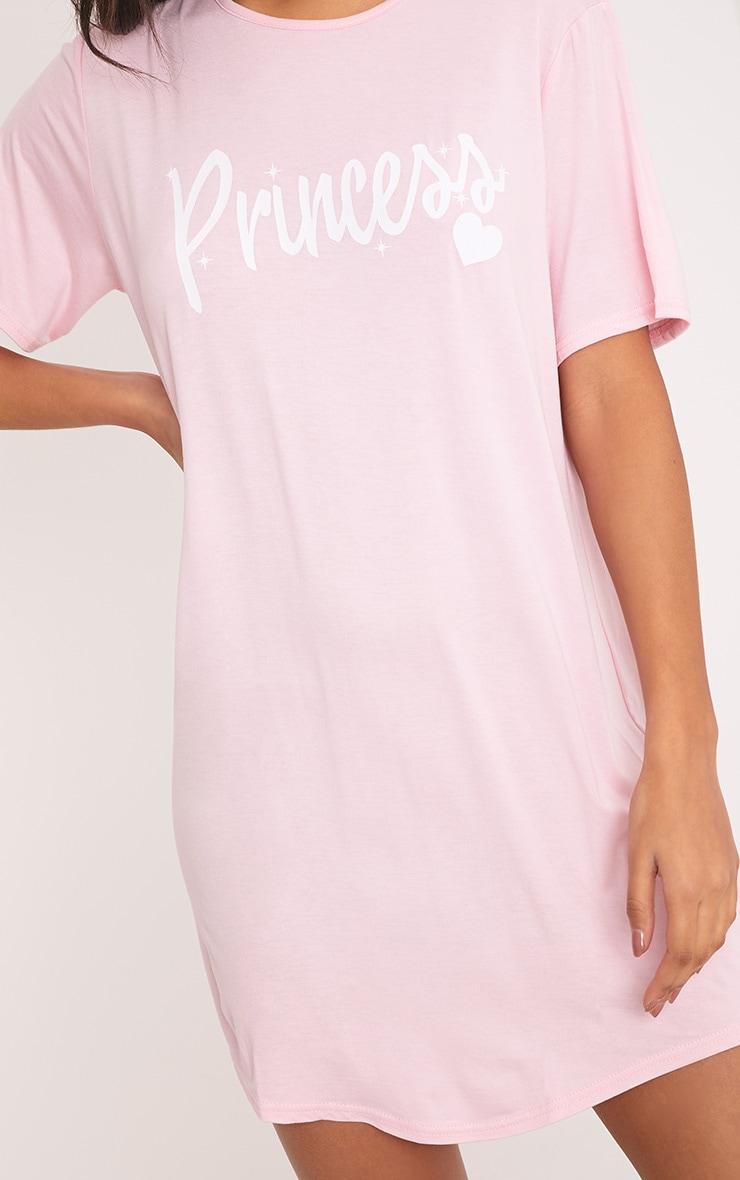 Chemise de nuit surdimensionnée rose Princess 5