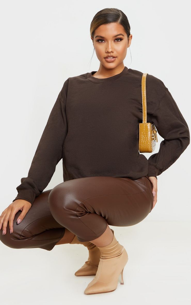 Chocolate Ultimate Oversized Sweater 3