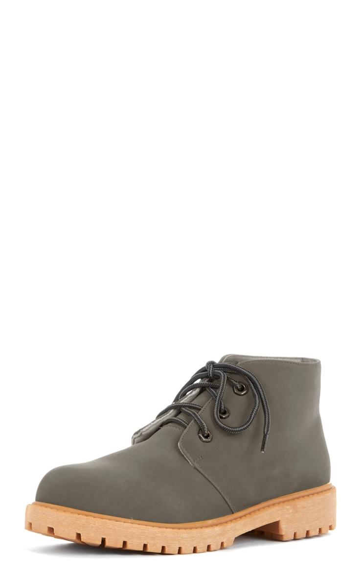 Iyanna Grey Desert Boot 2