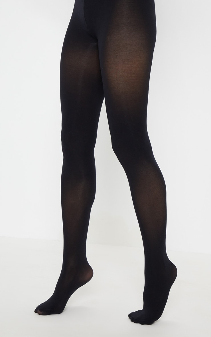 Black 60 Denier Opaque Tights 2