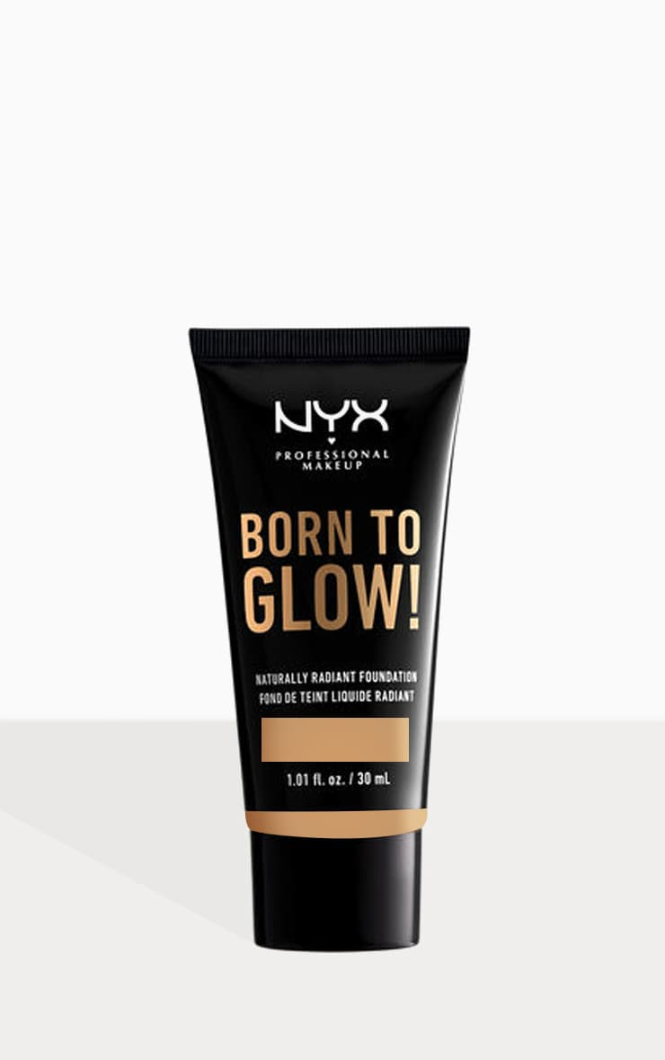 NYX PMU - Fond de teint Born To Glow - Beige 30 ml 1