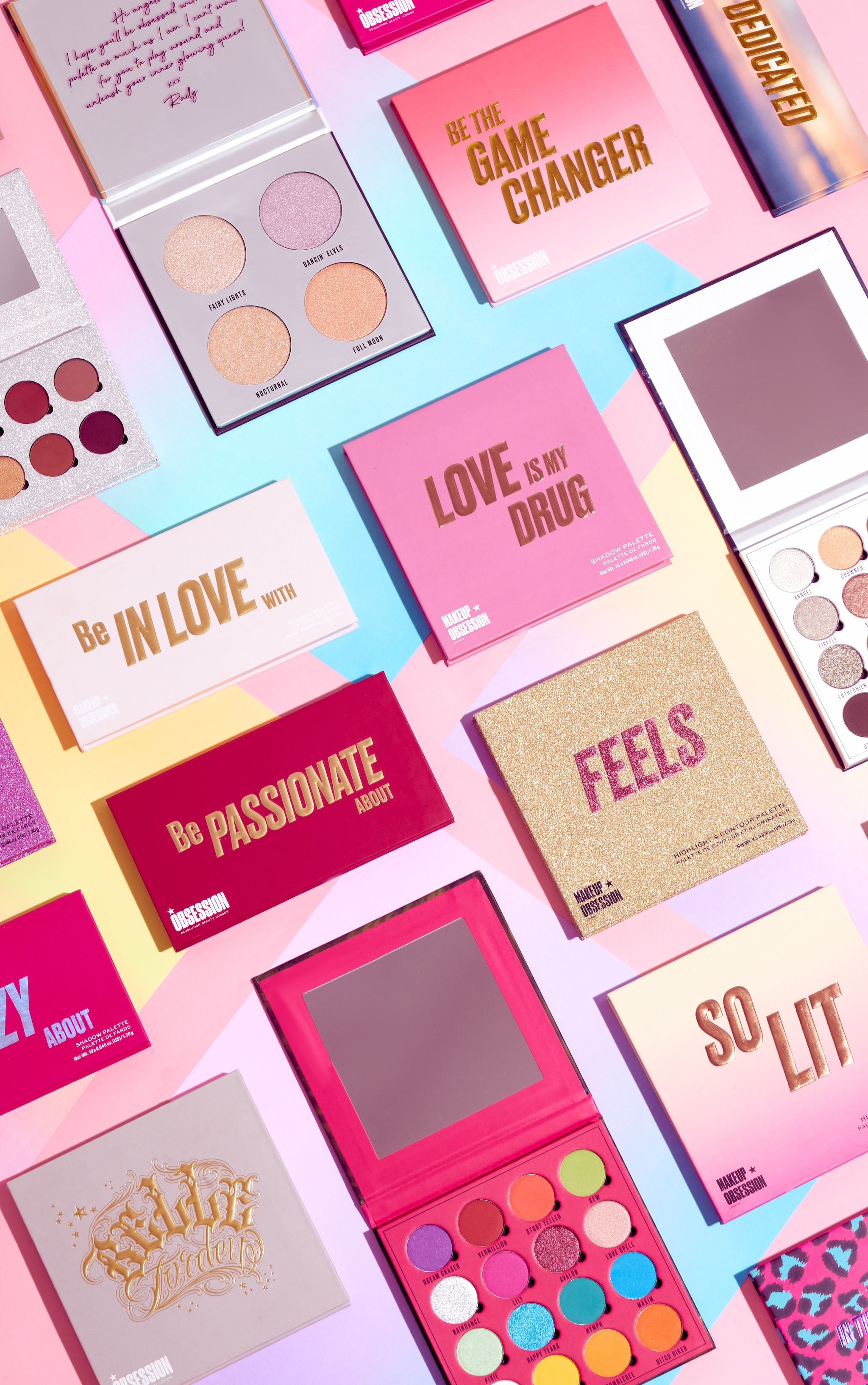 Makeup Obsession Be In Love With Eyeshadow Palette 5