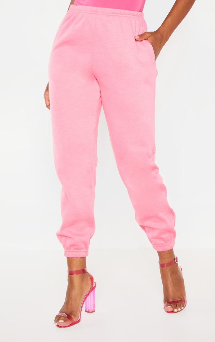 Hot Pink Casual Jogger 2