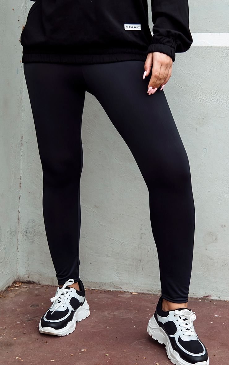 Black Basic Gym Legging 2