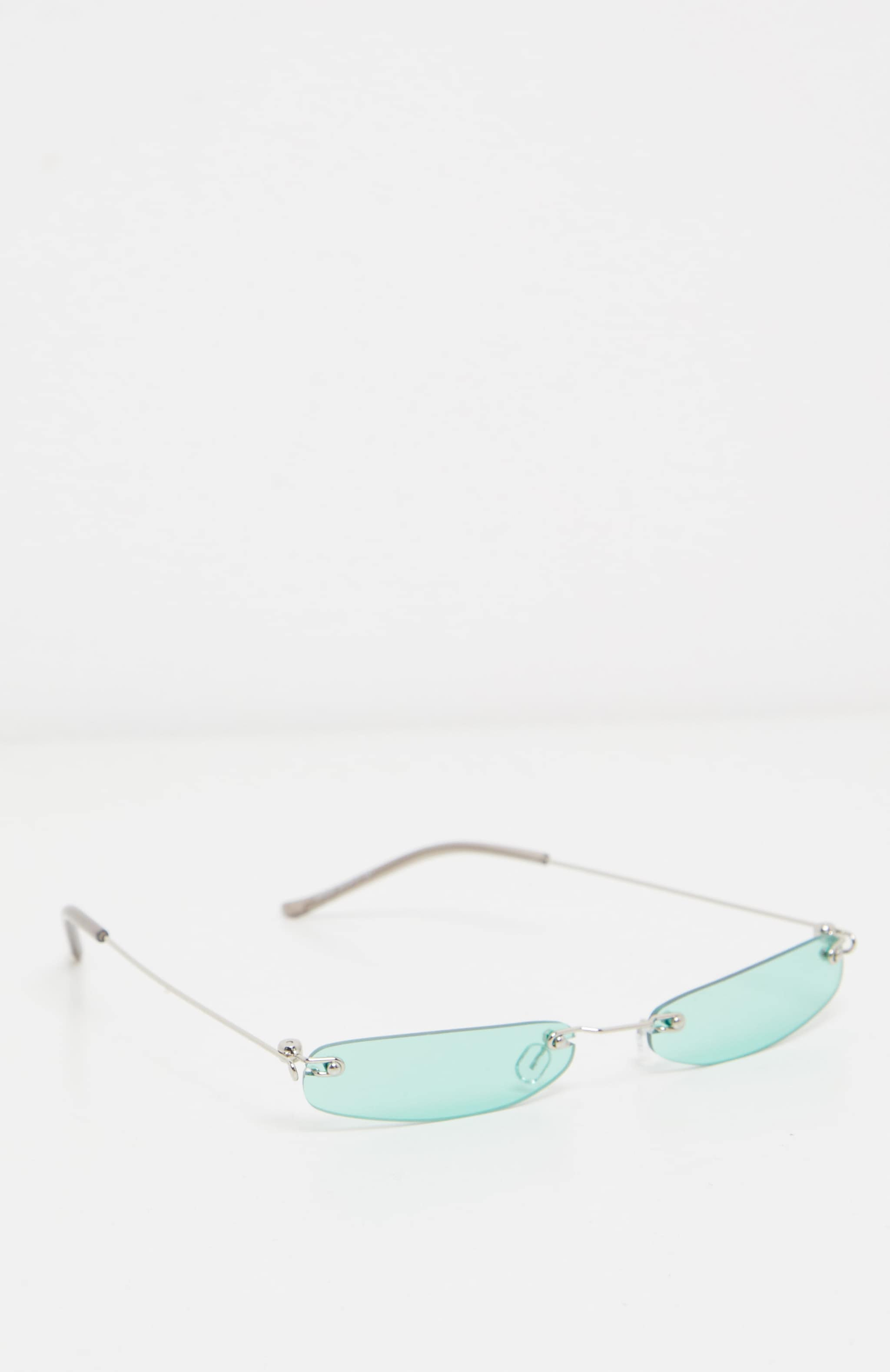 Green Slim Line Reader Sunglasses 2
