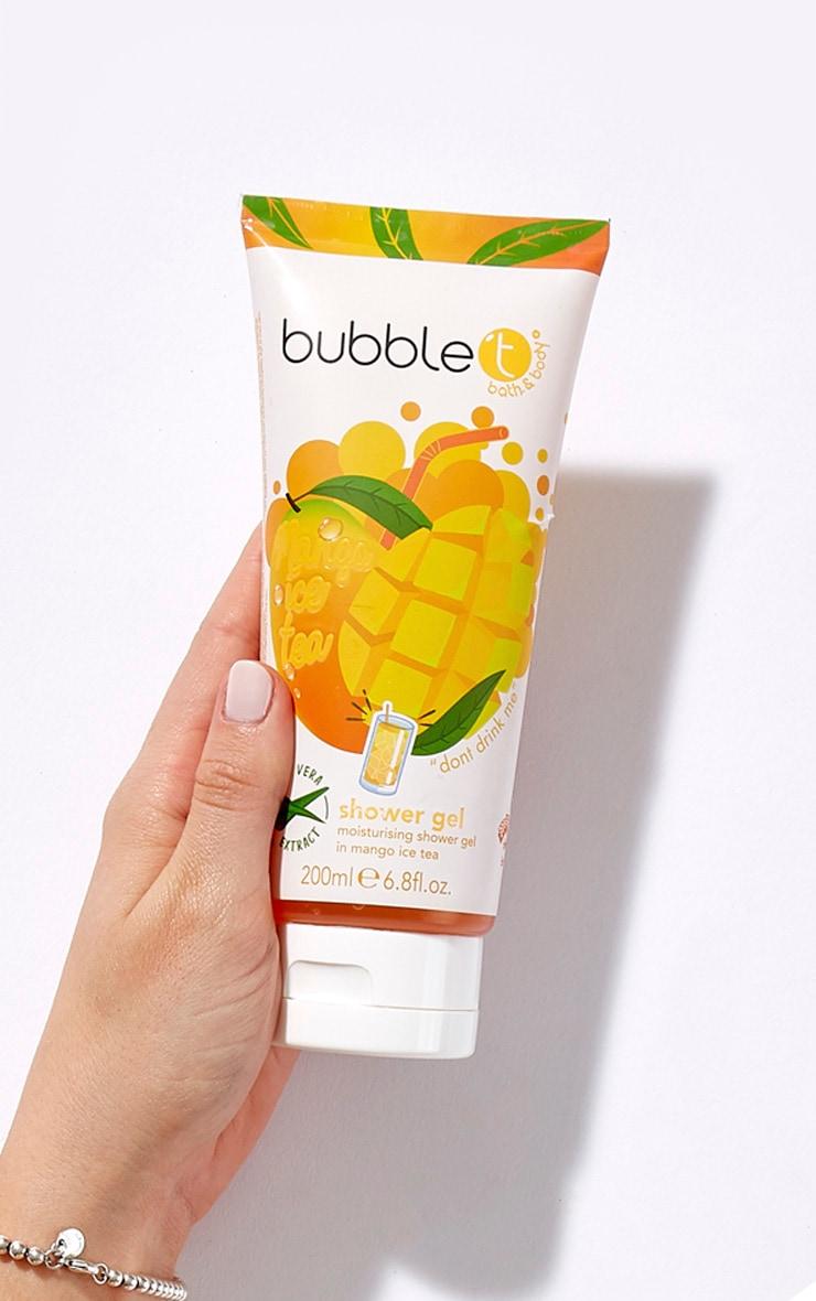 Bubble T Mango Ice Tea Shower Gel 200ml 1