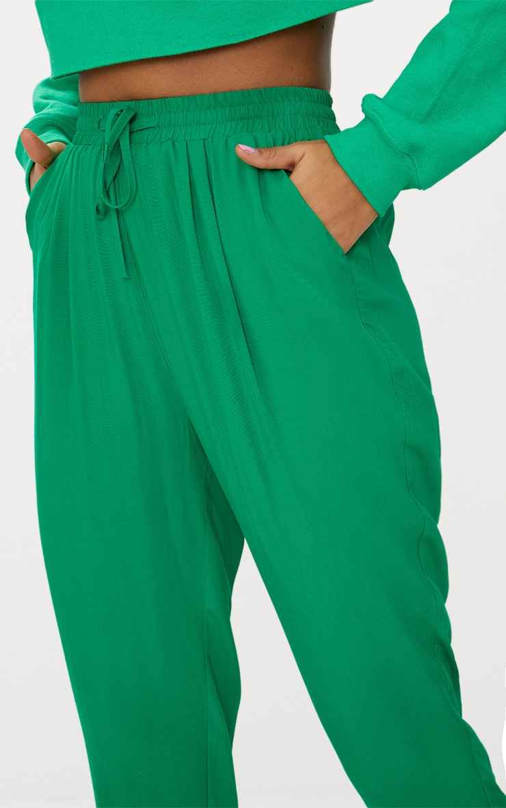 Bright Green Casual Trousers 5