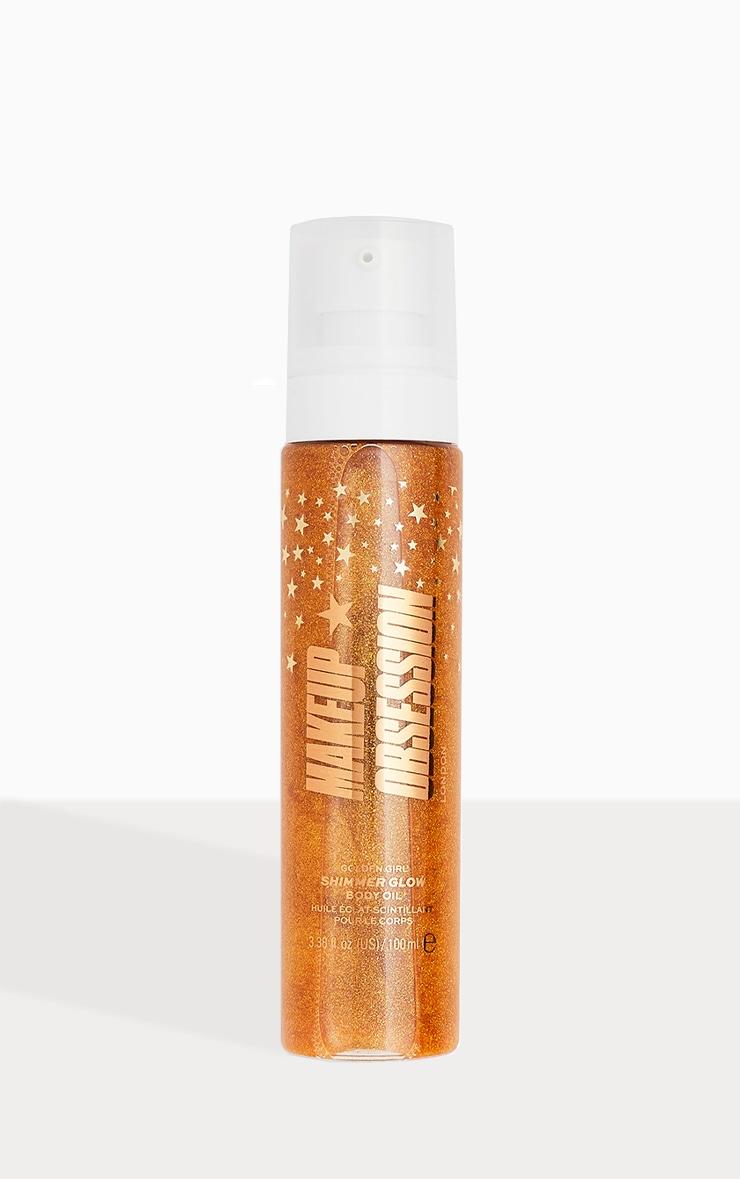 Makeup Obsession Shimmer Glow Body Oil Golden Girl image 1