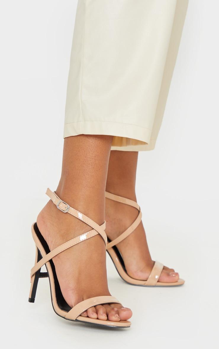 Nude Strap Heel Detailed Sandal 2