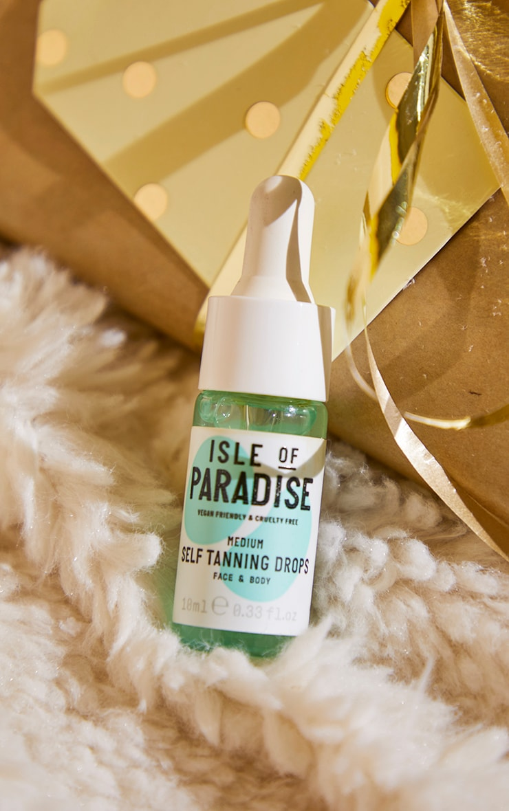 Isle of Paradise Christmas Glow Baby Glow Tanning Drops 1