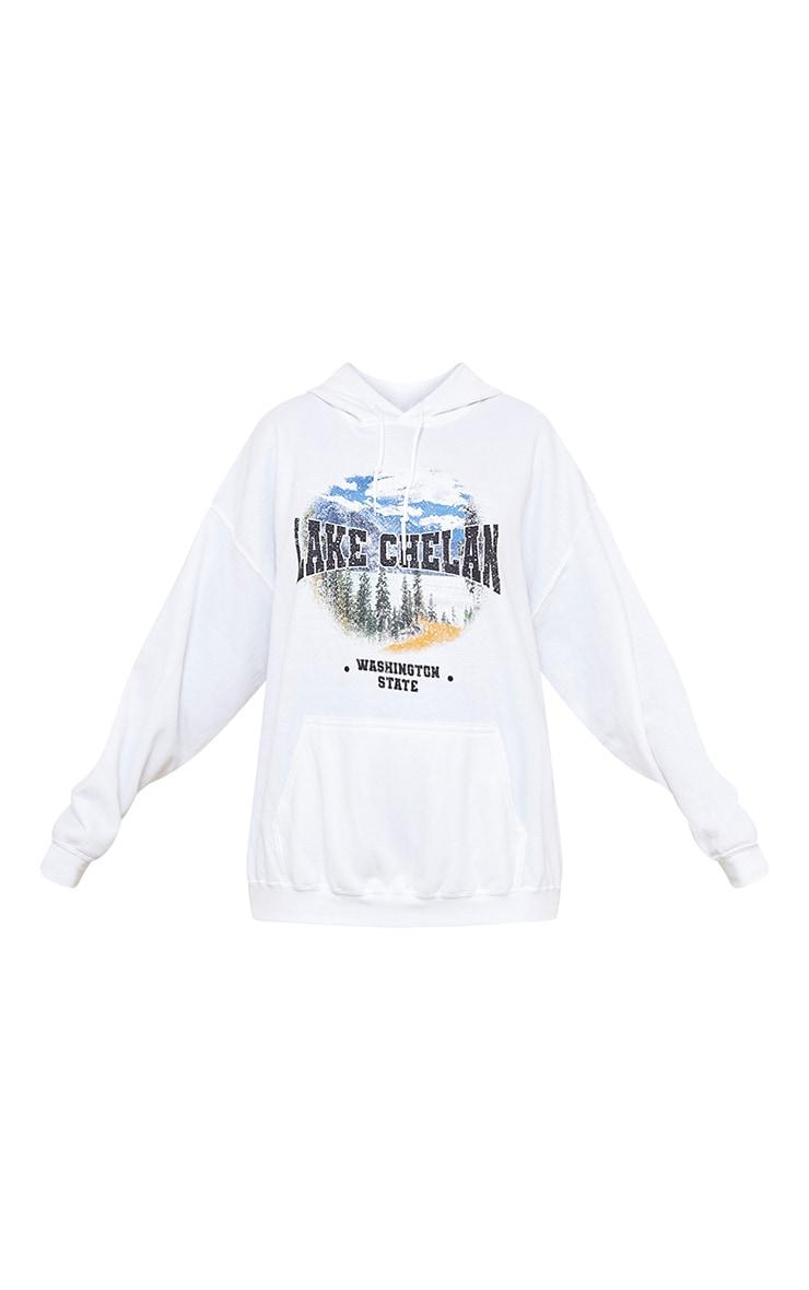 Cream Lake Chelan Printed Hoodie 5