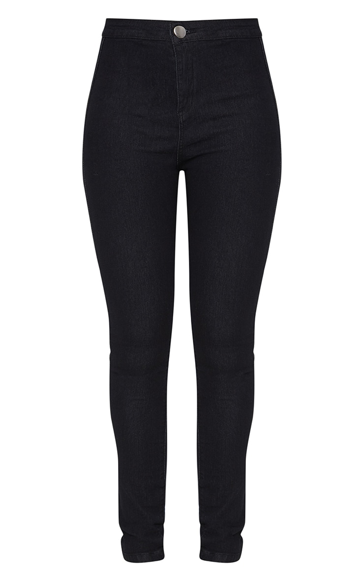 Washed  Black Disco Skinny Jean 3