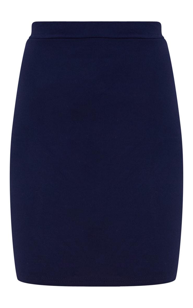 Navy Ultimate Jersey Mini Skirt 3
