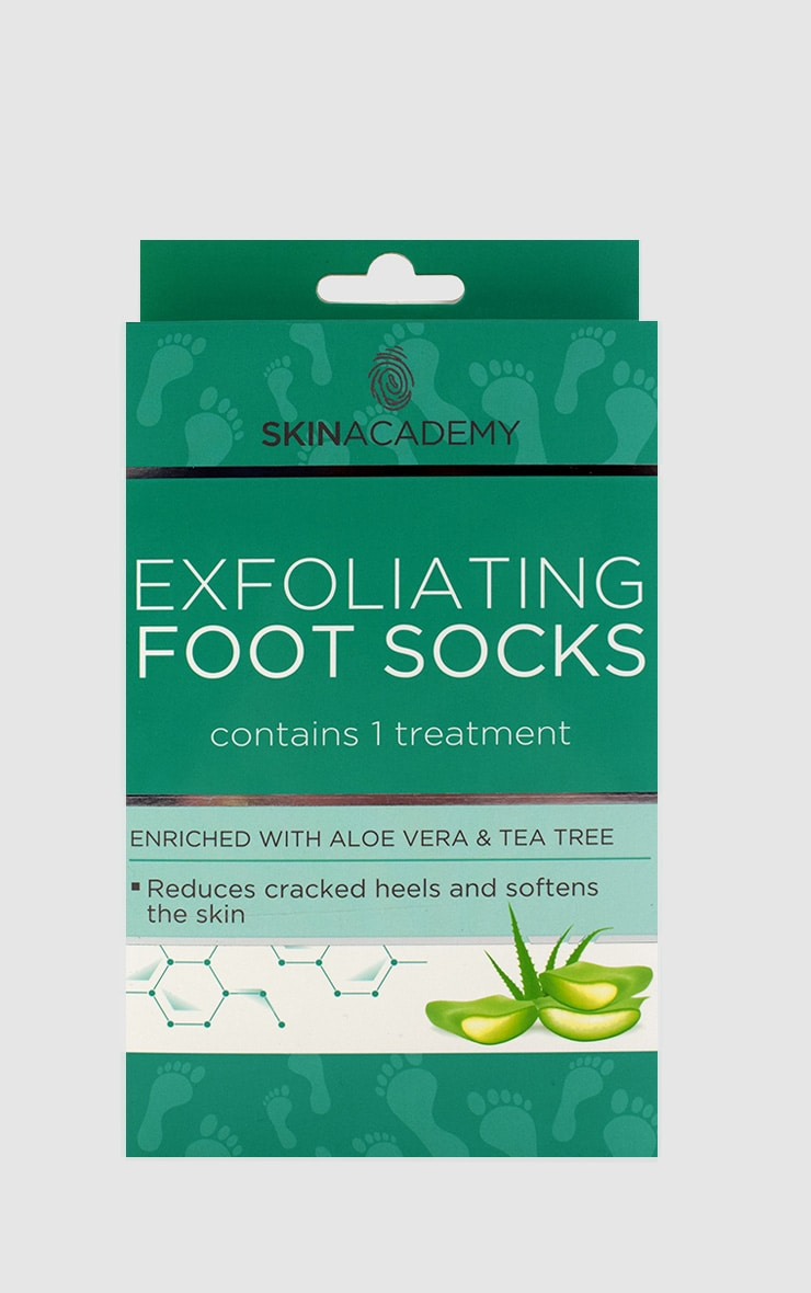 Aloe Vera Exfoliating Foot Socks 1