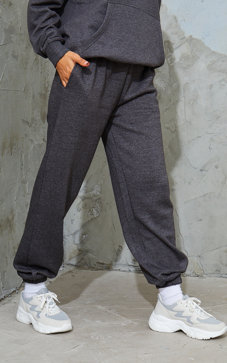 Charcoal Marl Sweat Pant Joggers 2
