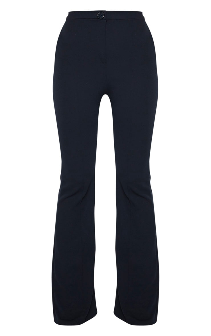 Tall Black  Pleat Detail Pants 3
