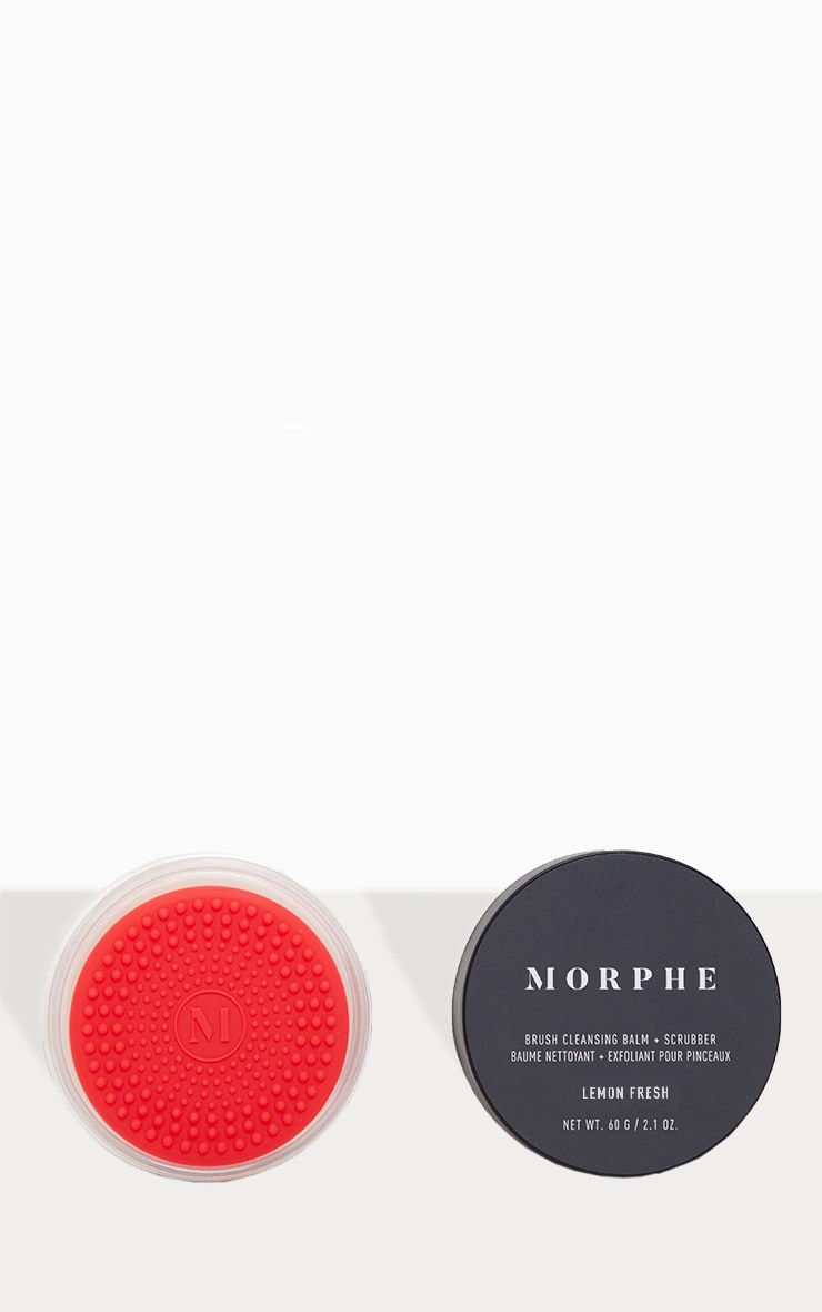 Morphe Brush Cleansing Balm & Scrubber Lemon Fresh 1