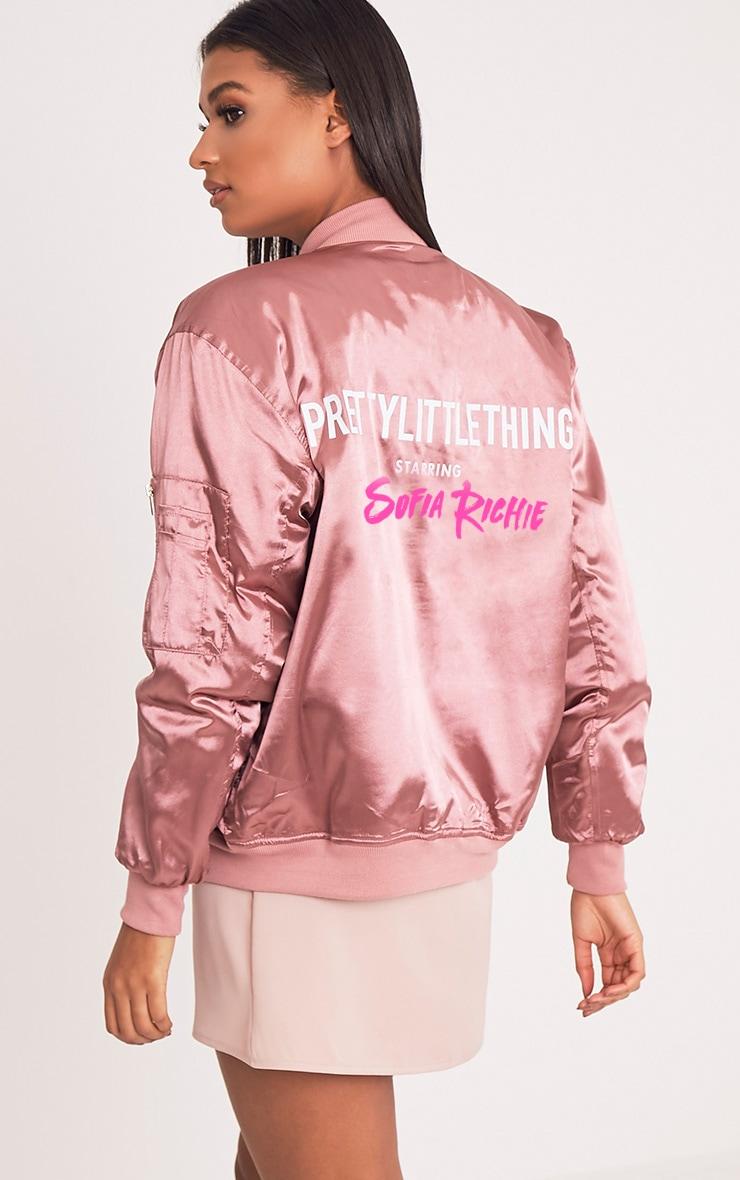 SOFIA RICHIE Rose Bomber Jacket 1