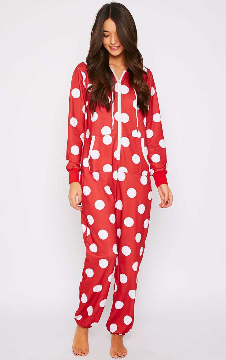Minnie Bow Snuggle Onesie 4