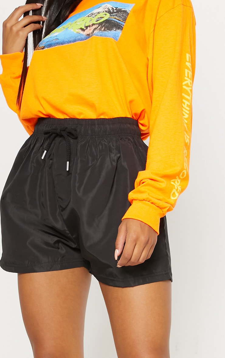 Black Shell Short 6
