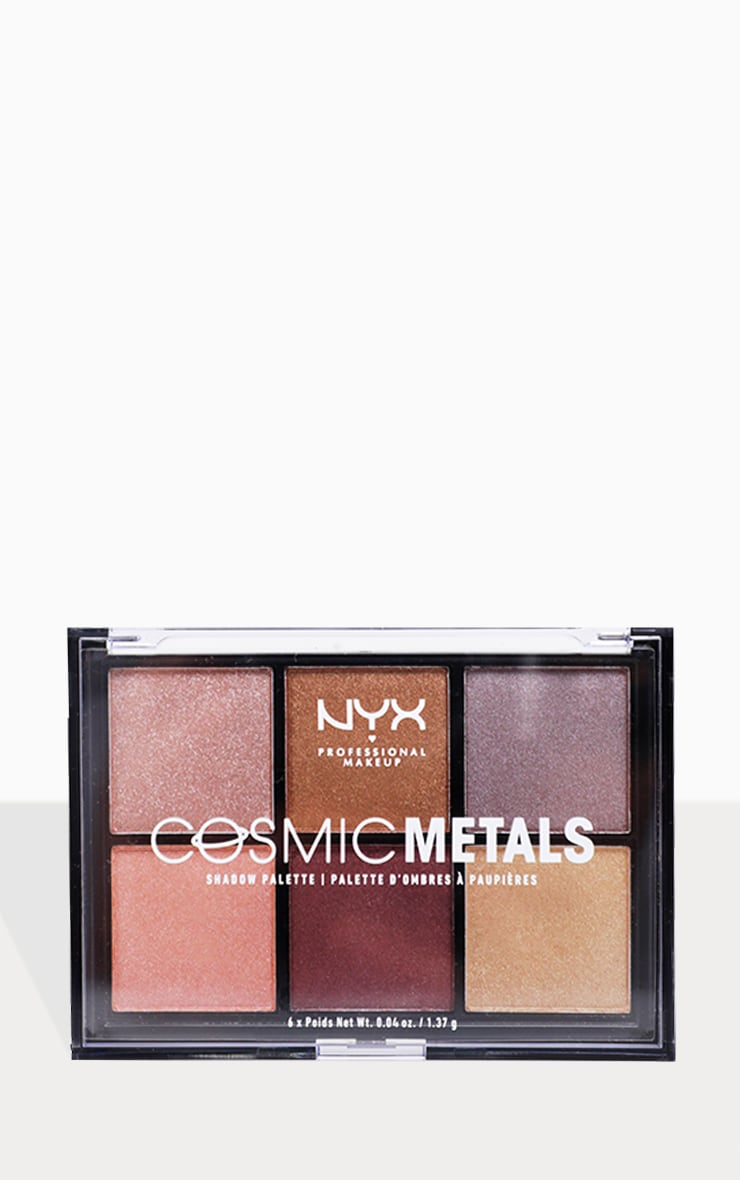 NYX Professional Makeup Cosmic Metals Shadow Palette  1
