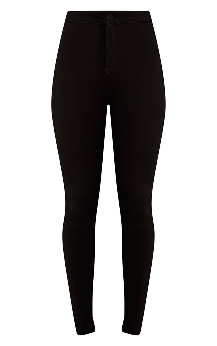 Serinna jeggings noirs taille haute 3
