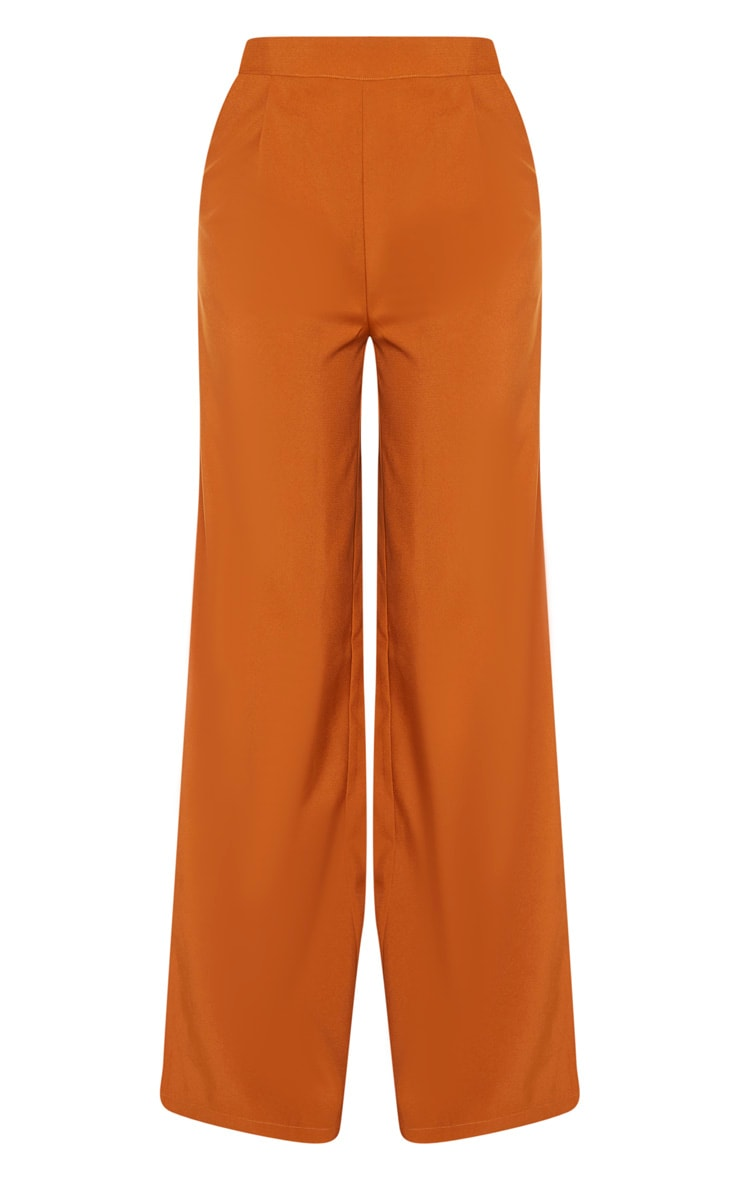 Tall Rust Extreme Wide Leg Trouser 5