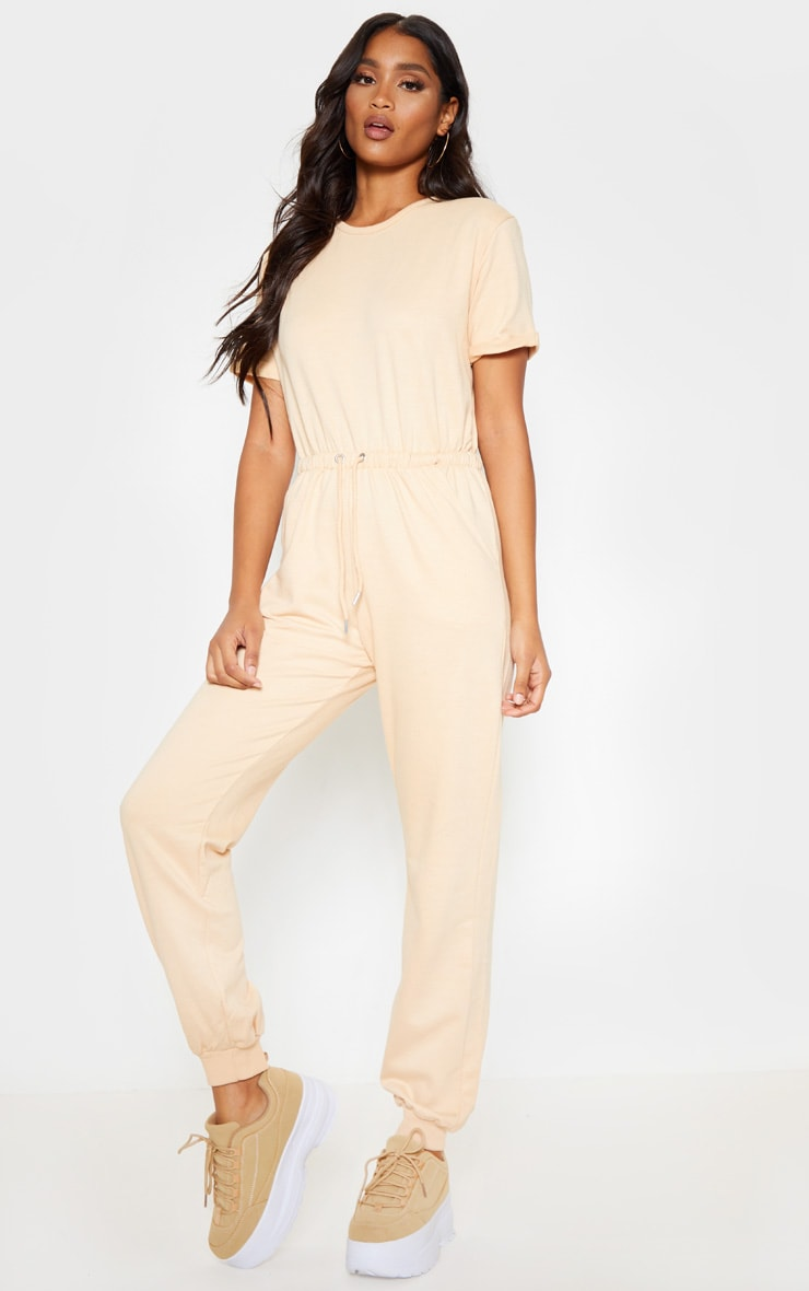 Fawn Short Sleeve Sweat Jumpsuit 4