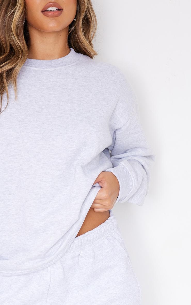 Ash Grey Ultimate Oversized Sweatshirt 4