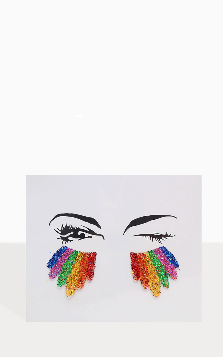 SHRINE Rainbow Glitter Sticker 4