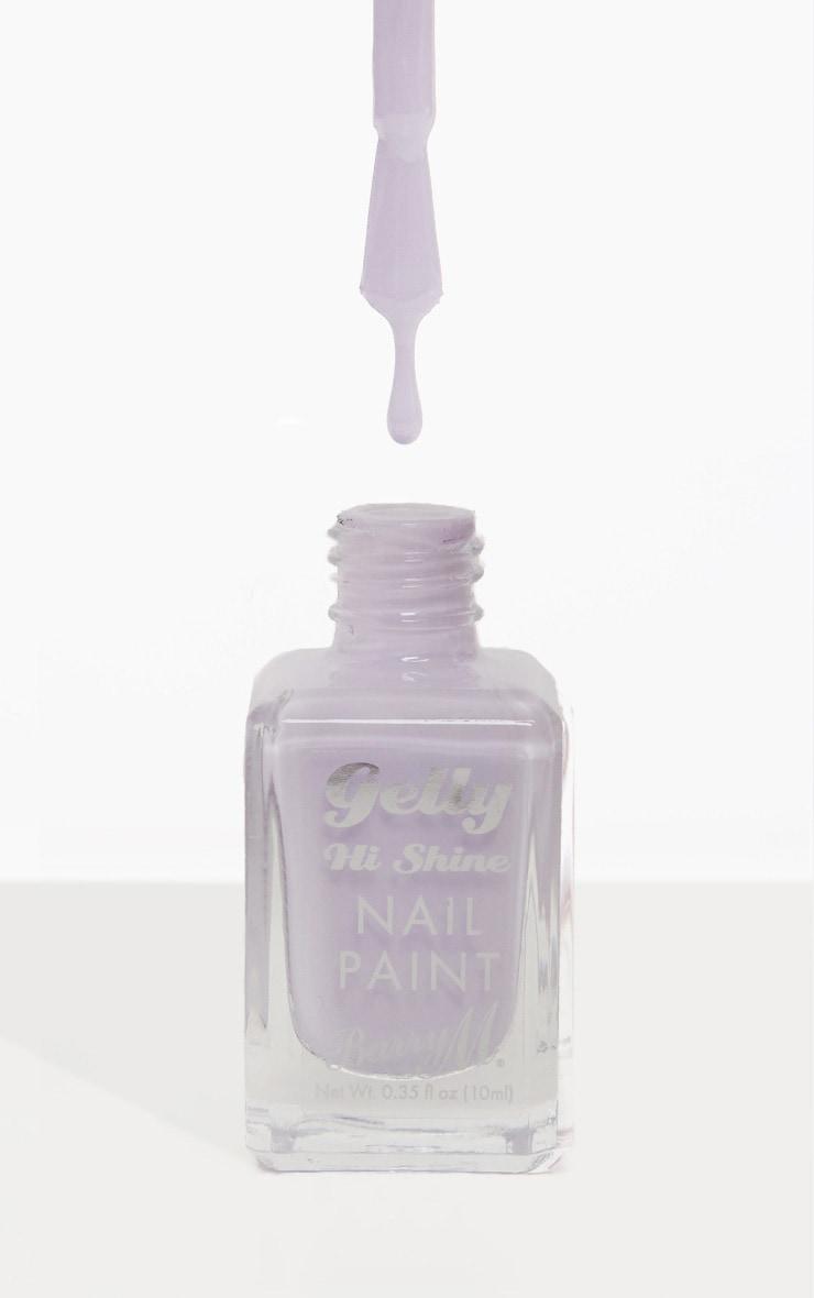 Barry M Gelly Nail Paint Pink Lemonade 1