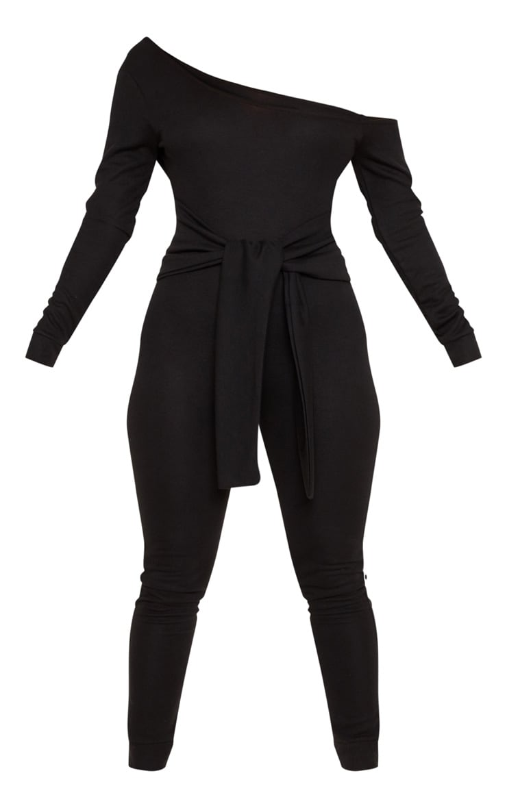 Black Sweat Jumpsuit 3