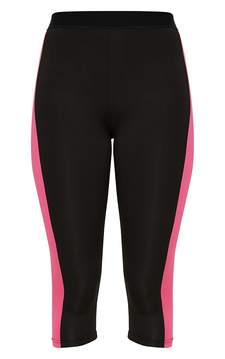Black 3/4 Sports Leggings  4