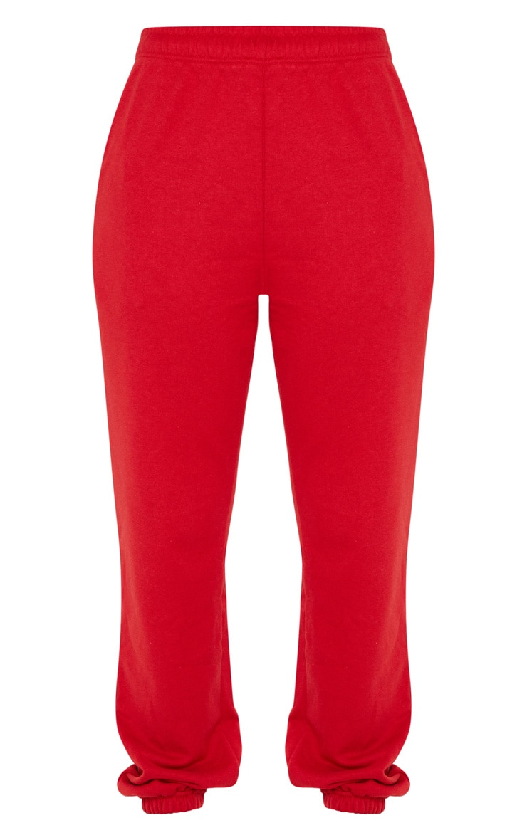 Red Casual Jogger 3