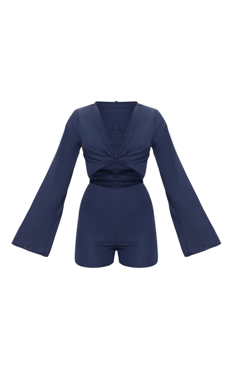 Navy Bell Sleeve Playsuit 3