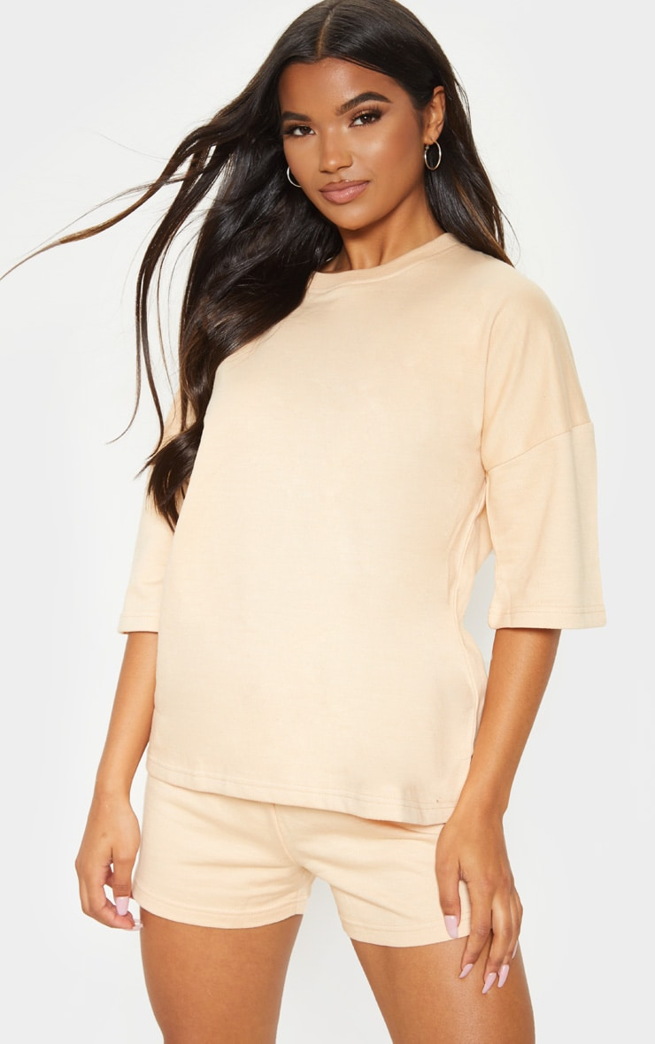 Fawn Oversized Sweat T-shirt
