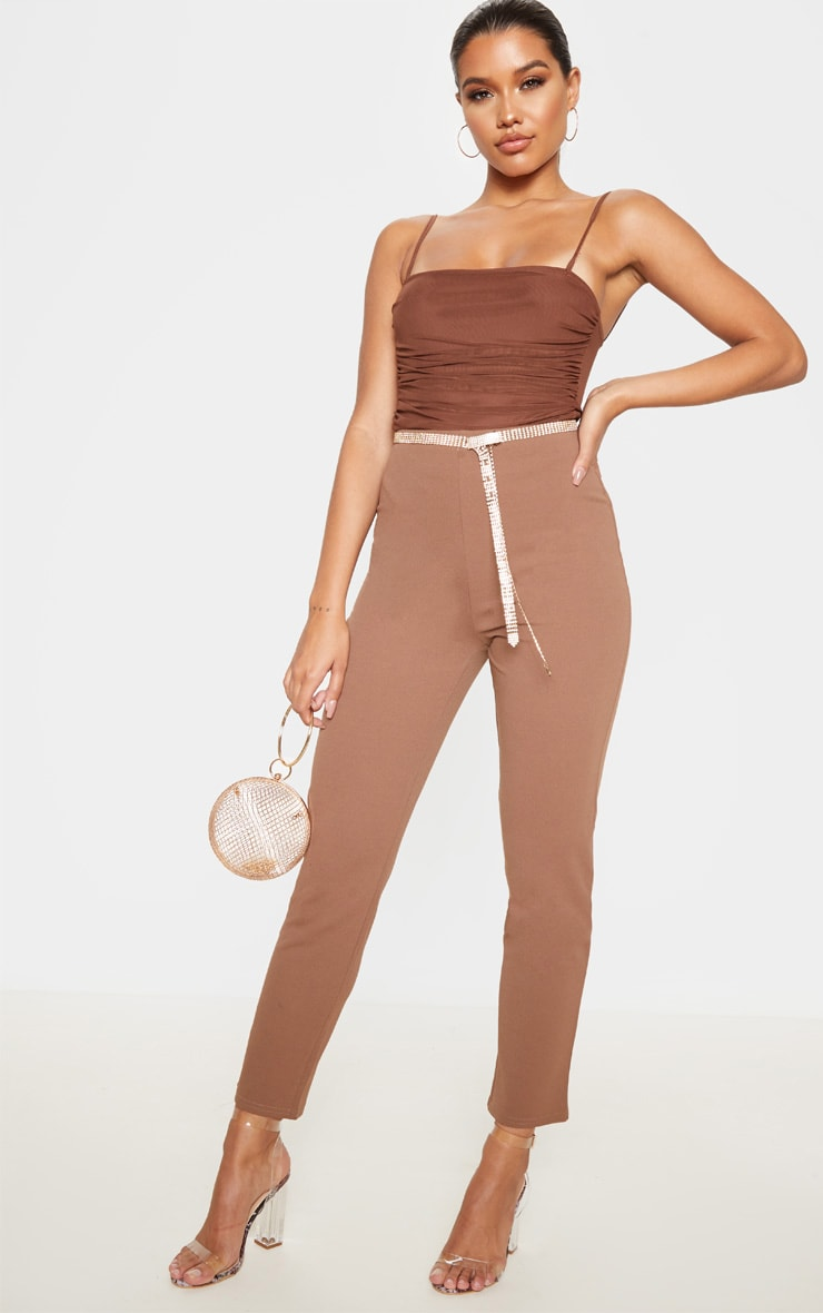 Chocolate Cigarette Trouser 1