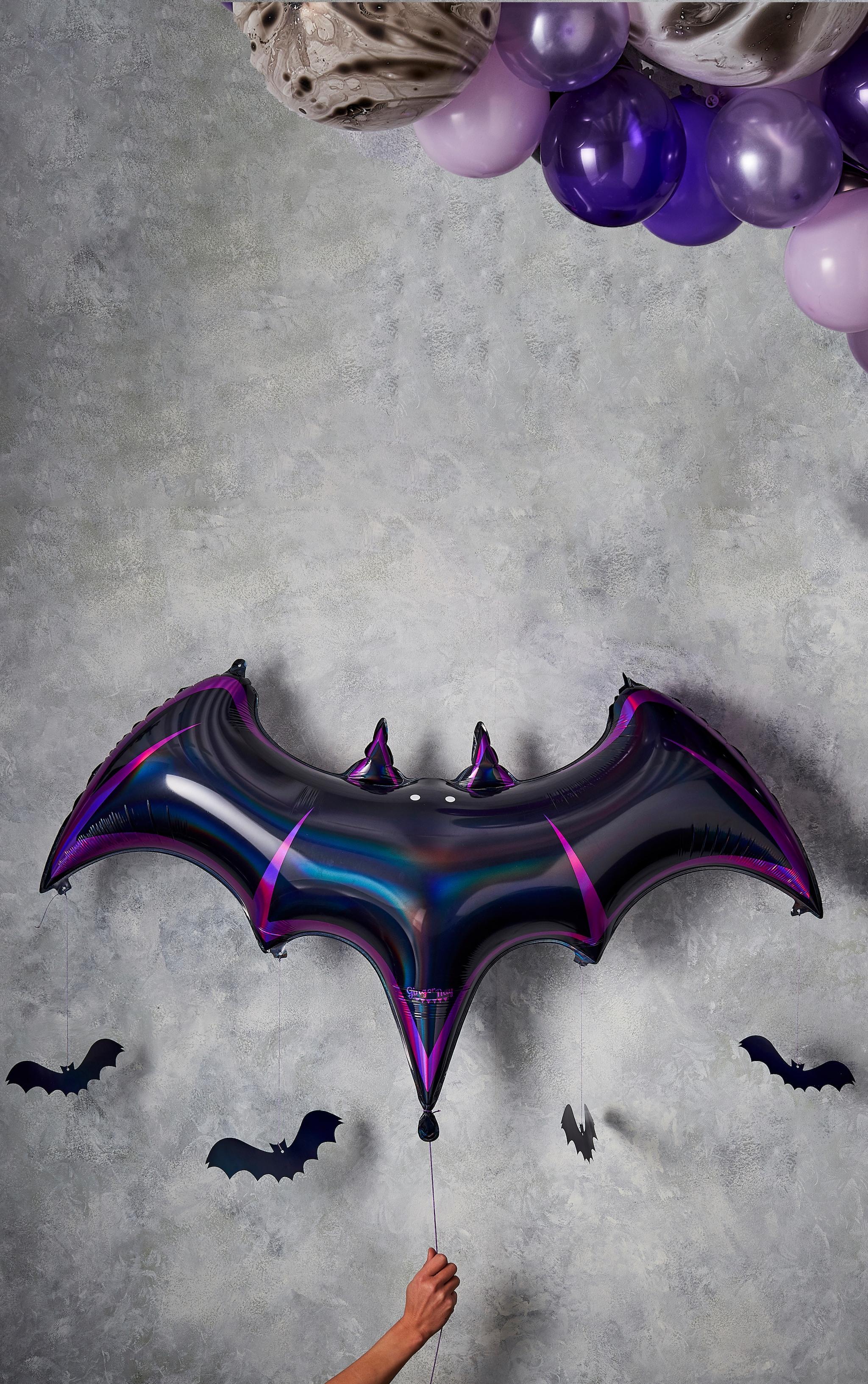 Ginger Ray Foil Balloon Bat Shaped Balloons 1