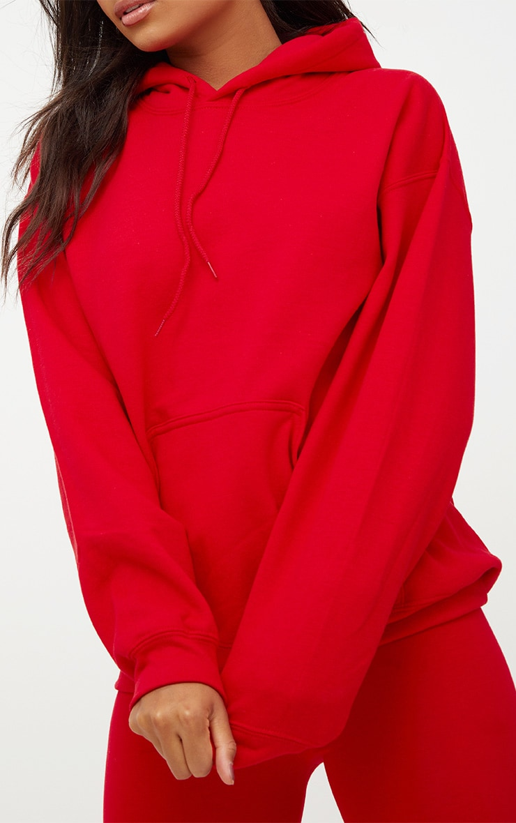 Red Ultimate Oversized Hoodie 5