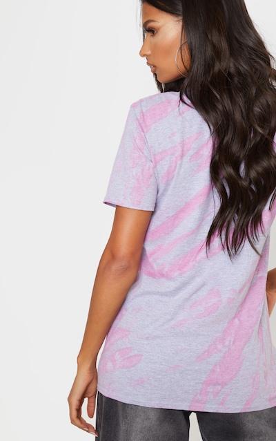 Grey Acid Washed Oversized T-Shirt