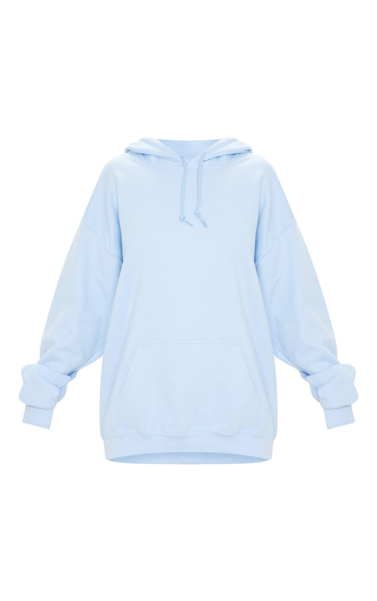 Light Blue Ultimate Oversized Hoodie  3