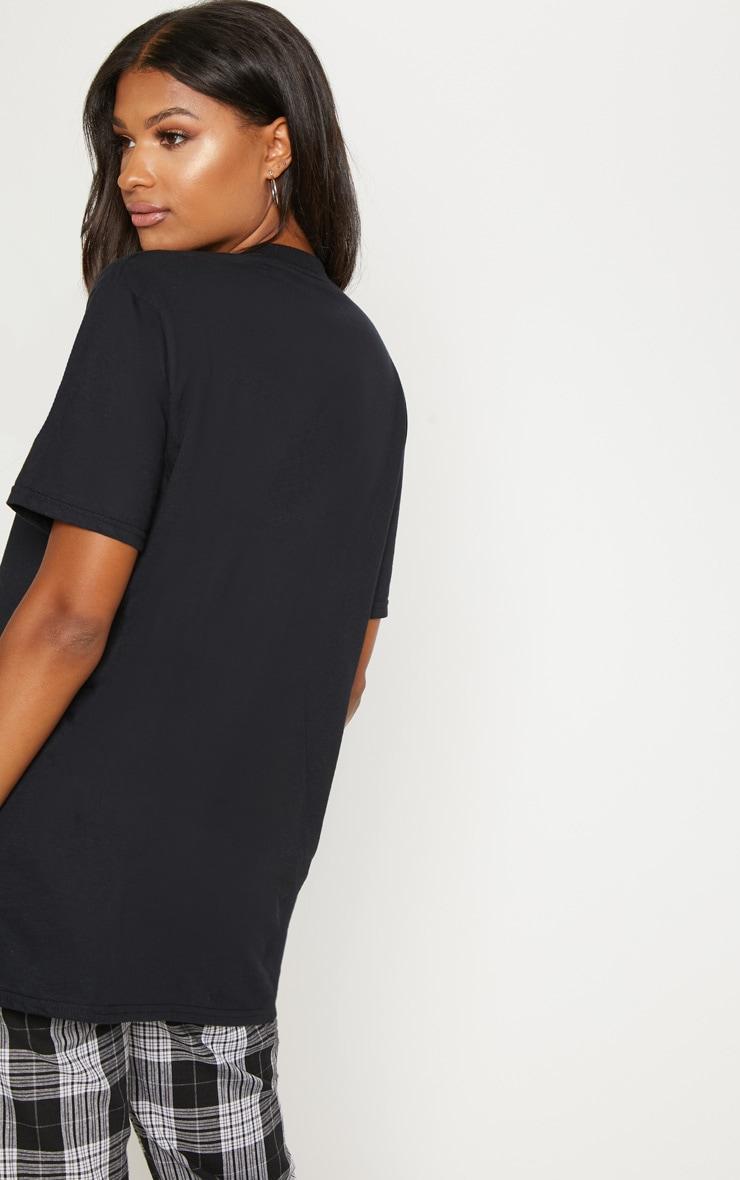 Black Tupac Oversized T Shirt 2