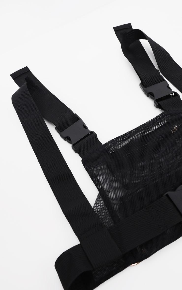 Black Mesh Front Bag 4