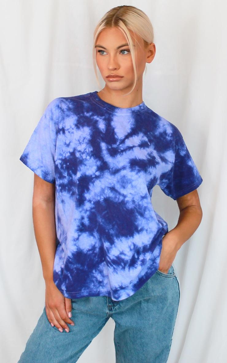 Purple Tie Dye T Shirt 1