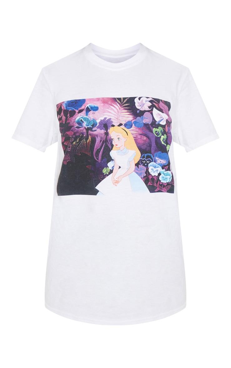 White Snow White Oversized T Shirt  3
