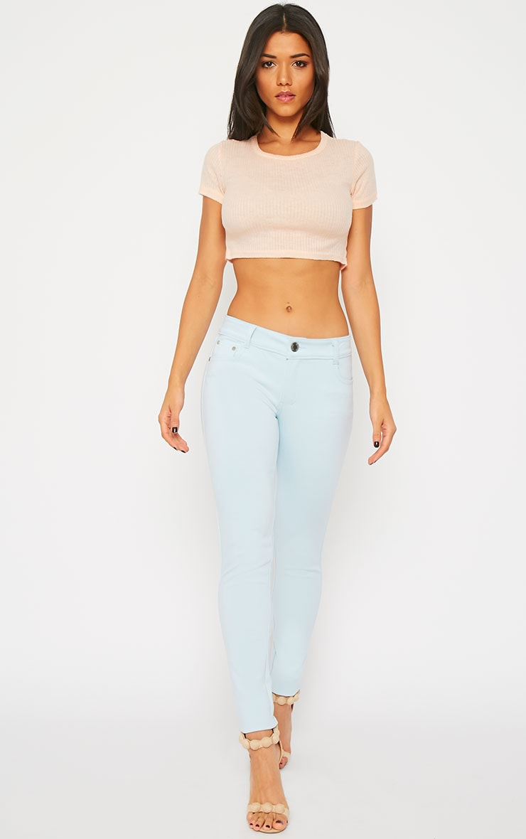 Powder Blue Jeggings 1